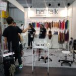 ヘアートークジャパン(hairtalk)のシールエクステのために朝イチ到着☆ビューティーワールドウエスト大阪2019