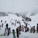 新潟初進出→シャルマン火打スキー場へ!リフト待ち無しの非圧雪バーン!近隣の柵口温泉 権現荘もめっちゃ良かった