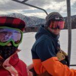 積雪減ハチ高原スキー場へ!これが今年最後のハチかも…キッカーは2つ!パークアイテム充実してた
