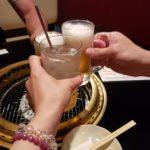 デフオーバーホールのお礼に三瀬さんと三宮テチャングム総本店で焼き肉&BAR鮫団で2次会&〆のしぇからしか