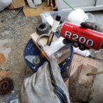 シルビアにデフオイルキャッチタンクを手作りDIY☆ホームセンター資材で丸2日かけて完成