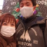 クリスマスイブなんでスターシップでディナーして、神戸メリケンパークのイルミネーションBE THE LIGHTへ