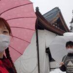 冬の福井県2日間の旅☆1日目→雪の九頭竜~越前大野を車中泊で観光